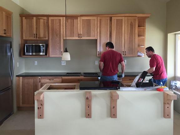 Installing Countertops