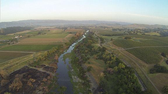 Cache Creek at Dawn
