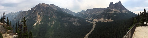 Washington Pass Panorama
