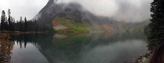 Rainy Lake Panorama