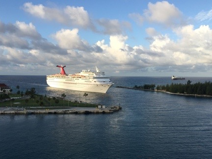 Carnival Fantasy at Freeport