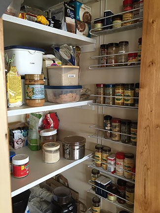 Spice Shelves