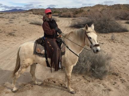 Janet on Cerro