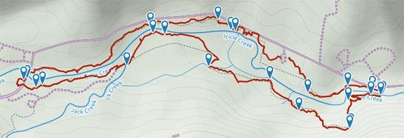 Icicle Creek Gorge Trail