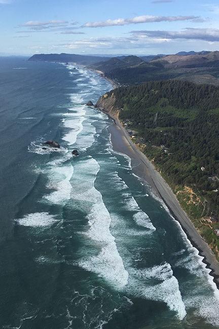 Oregon Coast at Seaside