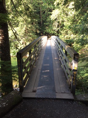 Bridge across Chilliwack River