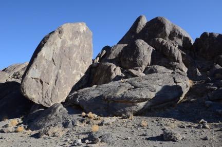 Rocks on Grandstand