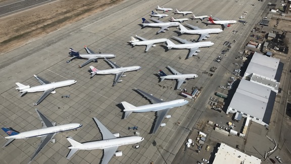 Planes at Victorville
