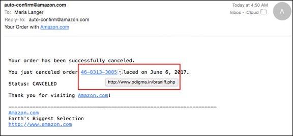 Amazon Order Cancelled?