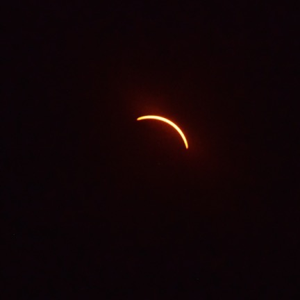 Crescent after Eclipse