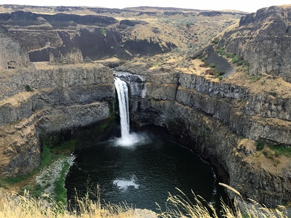 Palouse Falls from the Overlook