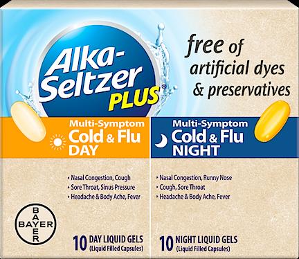 Alka Seltzer Cold Medicine