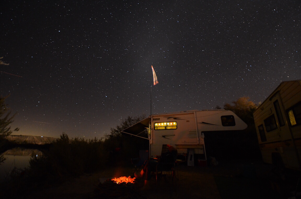 Fireside camp