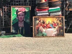 Mexican Booth Closeup