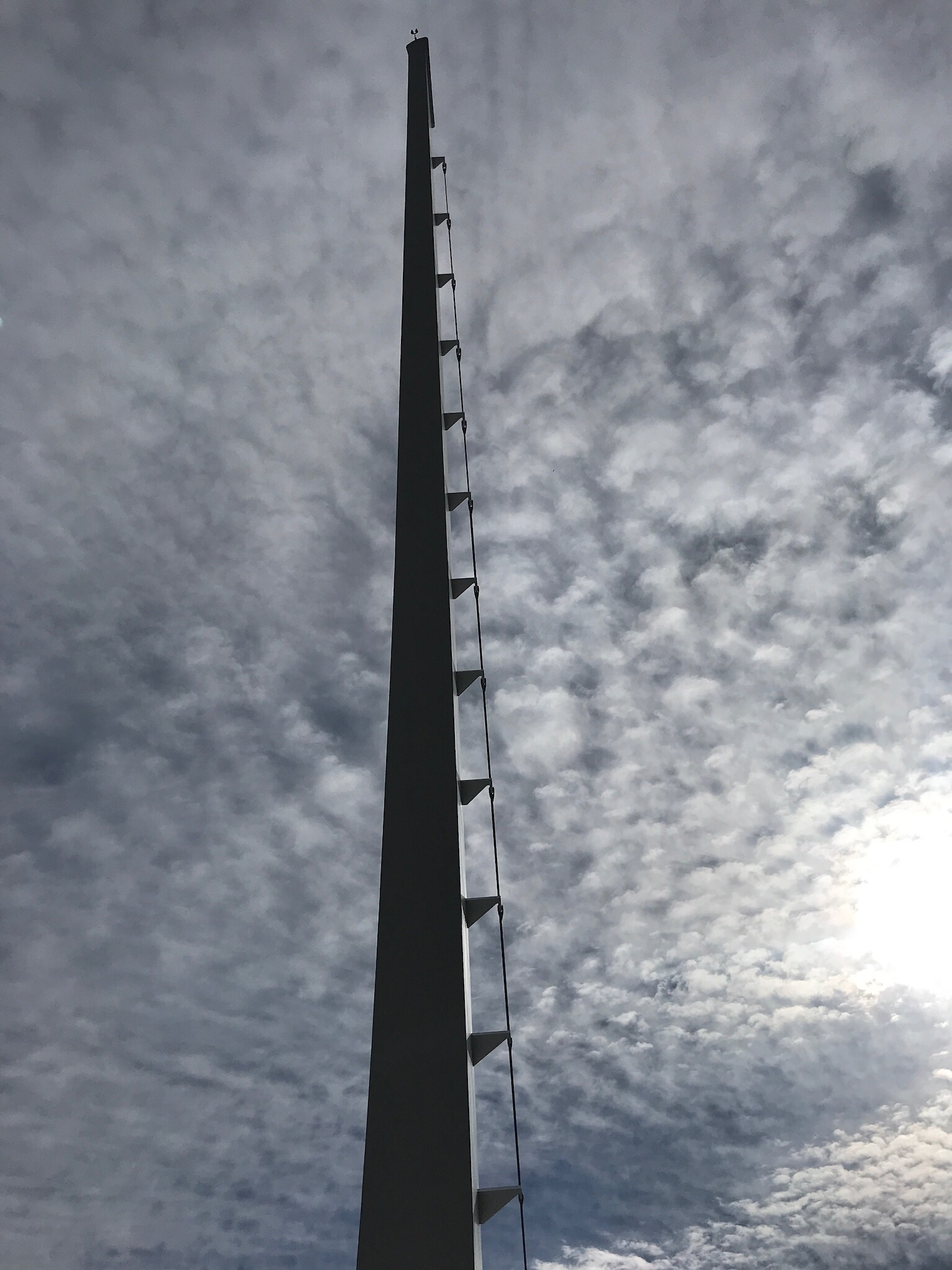 The tower at the Sundial Bridge.