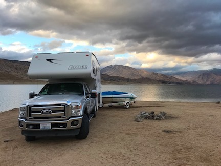 Camping at Lake Isabella
